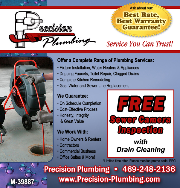 FREE Sewer Camera Inspection with Drain Cleaning